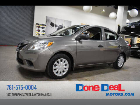2014 Nissan Versa for sale at DONE DEAL MOTORS in Canton MA