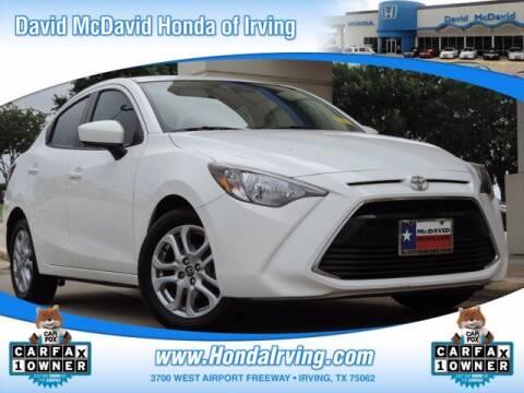 2018 Toyota Yaris iA for sale at DAVID McDAVID HONDA OF IRVING in Irving TX