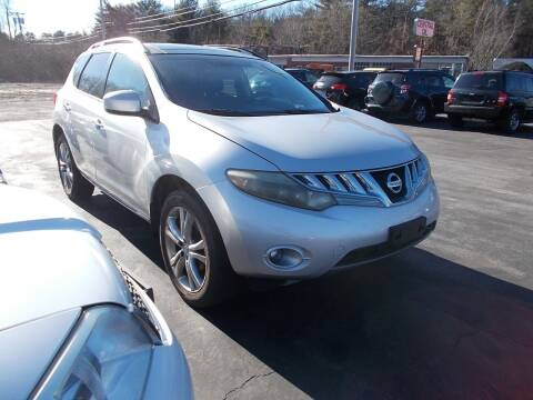 2009 Nissan Murano for sale at MATTESON MOTORS in Raynham MA