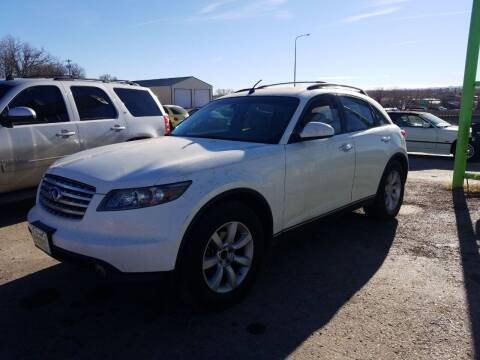 2003 Infiniti FX45 for sale at Independent Auto in Belle Fourche SD