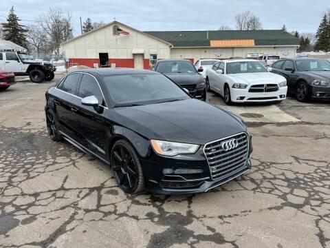 2016 Audi S3 for sale at Dean's Auto Sales in Flint MI