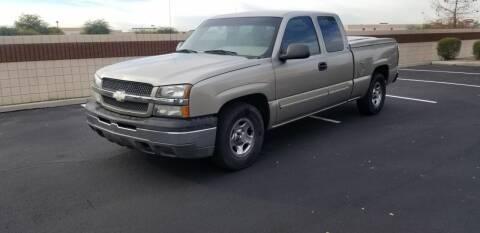2003 Chevrolet Silverado 1500 for sale at Sooner Automotive Sales & Service LLC in Peoria AZ