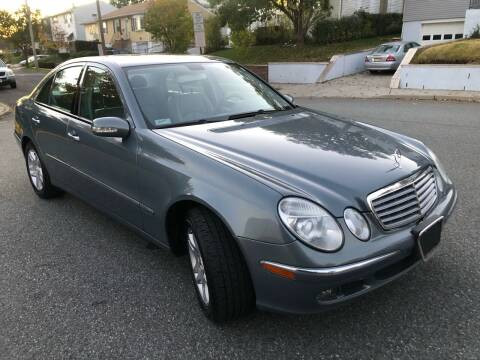 2006 Mercedes-Benz E-Class for sale at Giordano Auto Sales in Hasbrouck Heights NJ