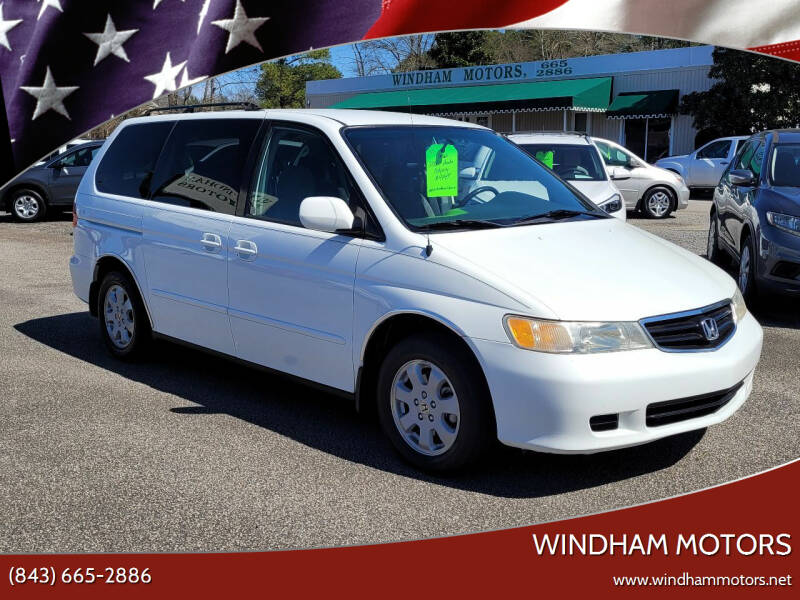 2003 Honda Odyssey for sale at Windham Motors in Florence SC