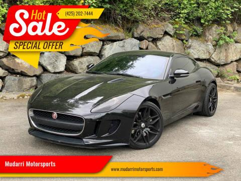 2017 Jaguar F-TYPE for sale at Mudarri Motorsports in Kirkland WA