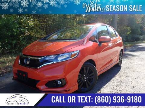 2018 Honda Fit for sale at EAGLEVILLE MOTORS LLC in Storrs CT