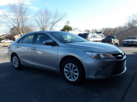 2017 Toyota Camry for sale at TAPP MOTORS INC in Owensboro KY