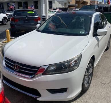 2015 Honda Accord for sale at Navarro Auto Motors in Hialeah FL
