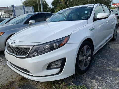2014 Kia Optima Hybrid for sale at Always Approved Autos in Tampa FL