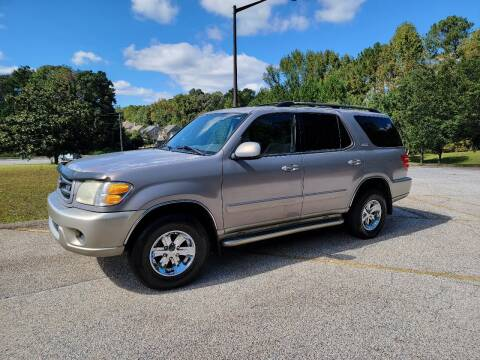 2001 Toyota Sequoia for sale at WIGGLES AUTO SALES INC in Mableton GA