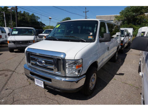 2010 Ford E-Series Wagon for sale at Scheuer Motor Sales INC in Elmwood Park NJ