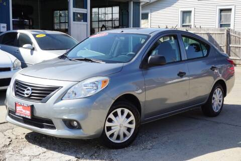 2013 Nissan Versa for sale at Cass Auto Sales Inc in Joliet IL