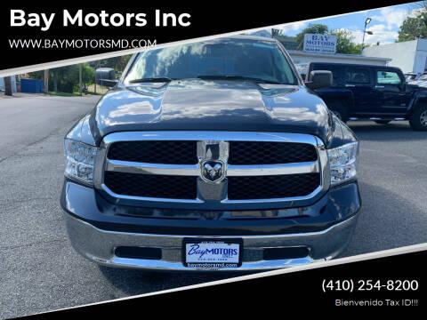 2019 RAM Ram Pickup 1500 Classic for sale at Bay Motors Inc in Baltimore MD