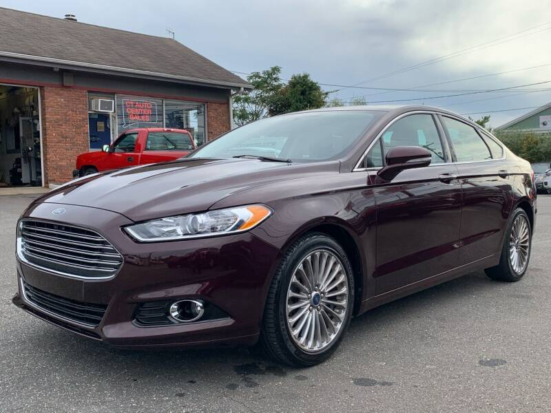 2013 Ford Fusion for sale at CT Auto Center Sales in Milford CT