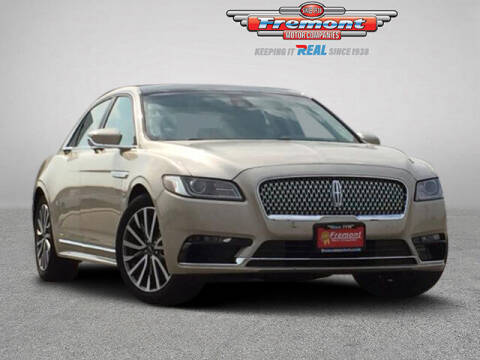 2017 Lincoln Continental for sale at Rocky Mountain Commercial Trucks in Casper WY