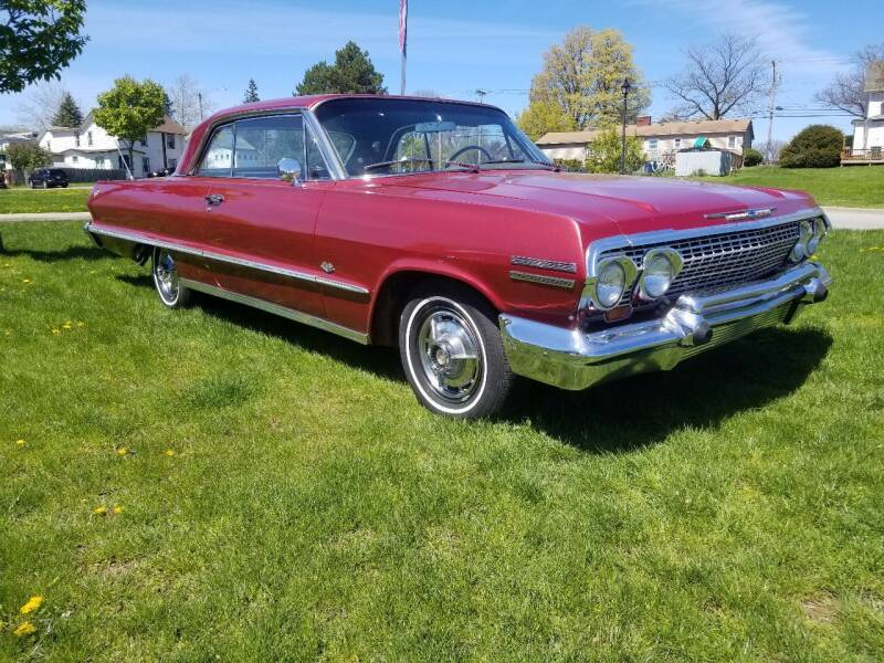 1963 Chevrolet Impala for sale at Great Lakes Classic Cars & Detail Shop in Hilton NY