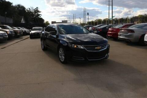 2016 Chevrolet Impala for sale at F & M AUTO SALES in Detroit MI