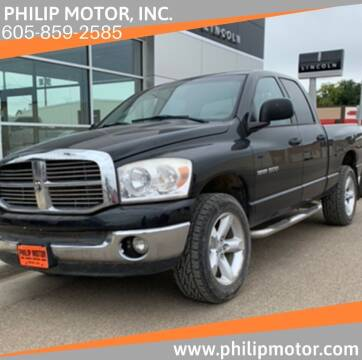 2007 Dodge Ram Pickup 1500 for sale at Philip Motor Inc in Philip SD