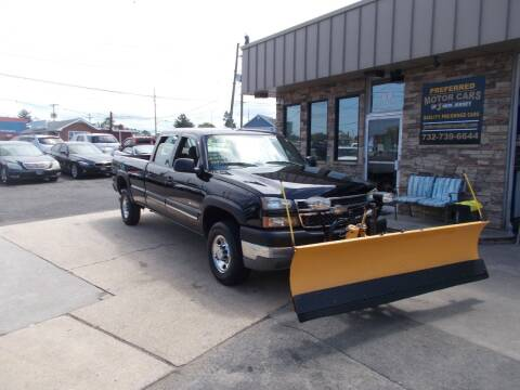 2005 Chevrolet Silverado 2500HD for sale at Preferred Motor Cars of New Jersey in Keyport NJ