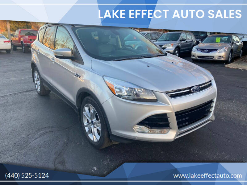 2014 Ford Escape for sale at Lake Effect Auto Sales in Chardon OH