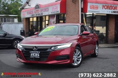 2020 Honda Accord for sale at www.onlycarsnj.net in Irvington NJ