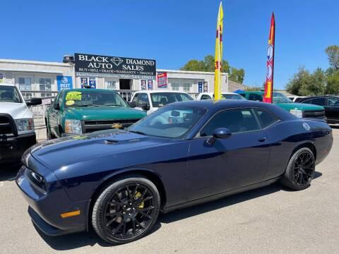 2013 Dodge Challenger for sale at Black Diamond Auto Sales Inc. in Rancho Cordova CA