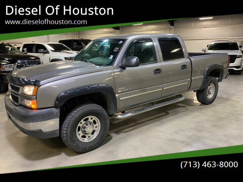2006 Chevrolet Silverado 2500HD for sale at Diesel Of Houston in Houston TX