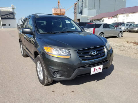 2010 Hyundai Santa Fe for sale at J & S Auto Sales in Thompson ND