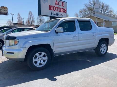2006 Honda Ridgeline for sale at Ace Motors in Saint Charles MO