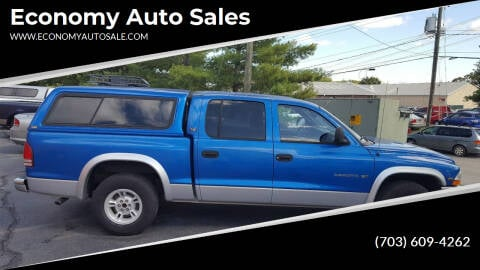 2000 Dodge Dakota for sale at Economy Auto Sales in Dumfries VA