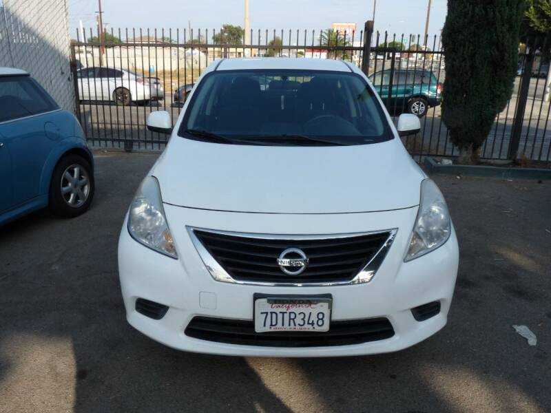 2012 Nissan Versa for sale at Oceansky Auto in Los Angeles CA