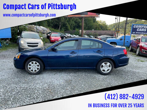 2009 Mitsubishi Galant for sale at Compact Cars of Pittsburgh in Pittsburgh PA