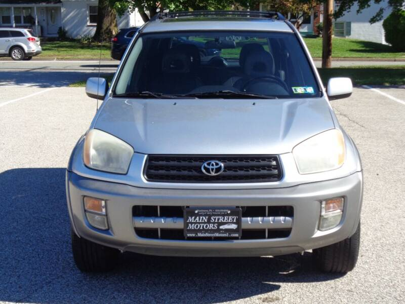 2001 Toyota RAV4 for sale at MAIN STREET MOTORS in Norristown PA