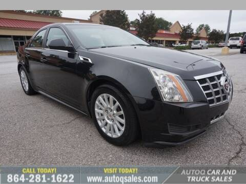 2013 Cadillac CTS for sale at Auto Q Car and Truck Sales in Mauldin SC
