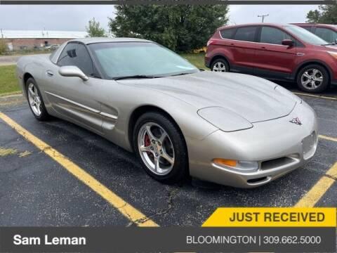 2002 Chevrolet Corvette for sale at Sam Leman Mazda in Bloomington IL