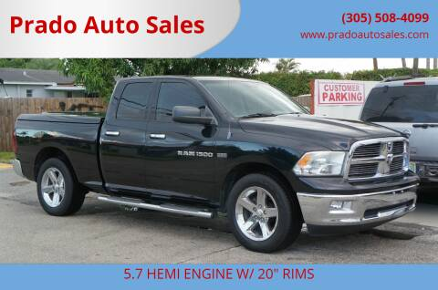 2012 RAM Ram Pickup 1500 for sale at Prado Auto Sales in Miami FL