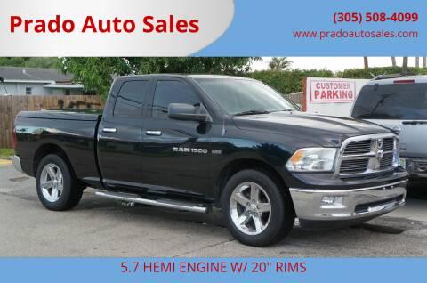 2012 RAM Ram Pickup 1500 for sale at Prado Auto Sales in Miami FL