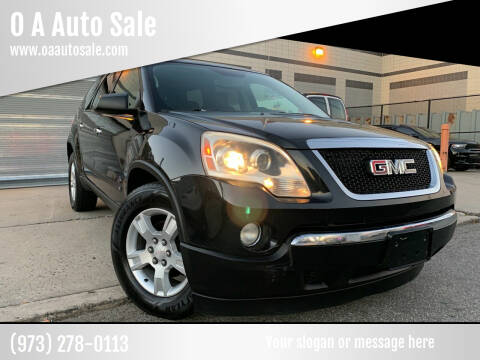 2009 GMC Acadia for sale at O A Auto Sale in Paterson NJ