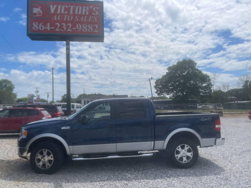 2008 Ford F-150 for sale at Victor's Auto Sales in Greenville SC