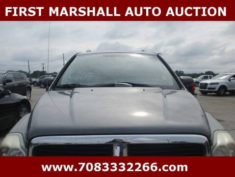 2005 Dodge Durango for sale at First Marshall Auto Auction in Harvey IL