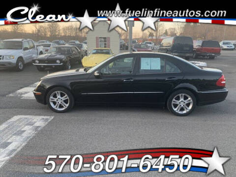 2006 Mercedes-Benz E-Class for sale at FUELIN FINE AUTO SALES INC in Saylorsburg PA