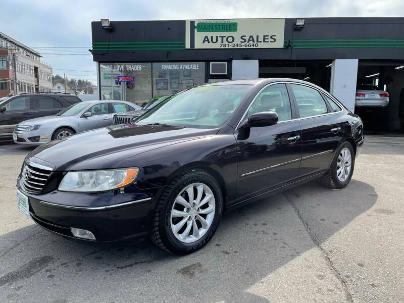 2007 Hyundai Azera for sale at Wakefield Auto Sales of Main Street Inc. in Wakefield MA