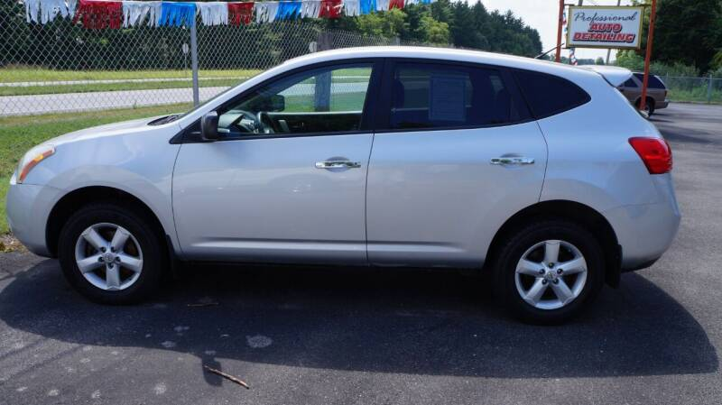 2010 Nissan Rogue for sale at G & R Auto Sales in Charlestown IN
