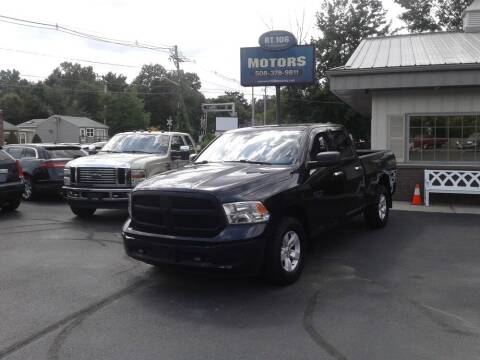 2017 RAM Ram Pickup 1500 for sale at Route 106 Motors in East Bridgewater MA