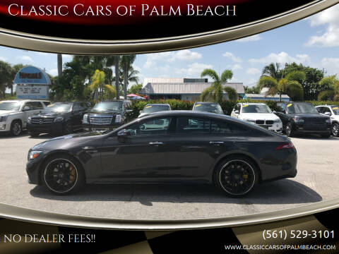 2019 Mercedes-Benz AMG GT for sale at Classic Cars of Palm Beach in Jupiter FL