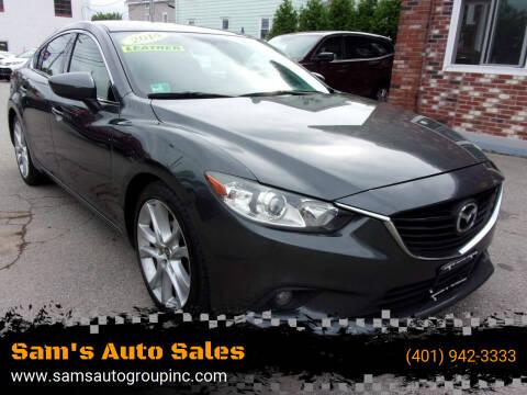 2014 Mazda MAZDA6 for sale at Sam's Auto Sales in Cranston RI