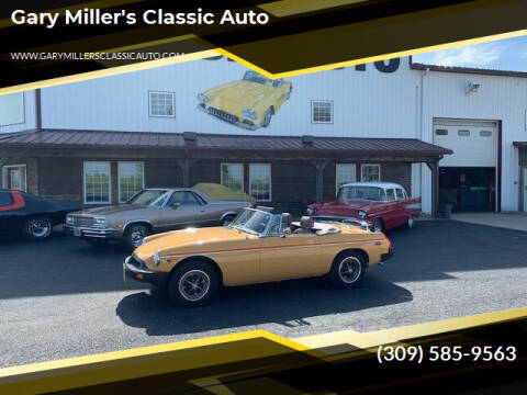 1977 MG MGB for sale at Gary Miller's Classic Auto in El Paso IL