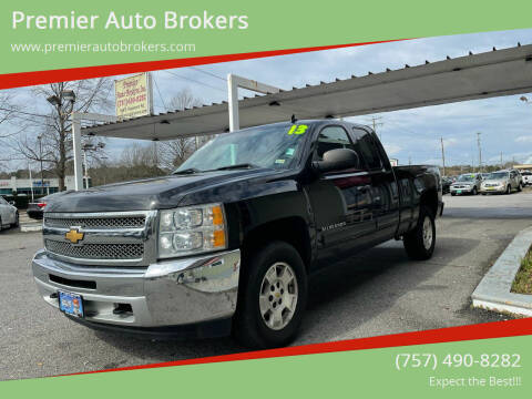 2013 Chevrolet Silverado 1500 for sale at Premier Auto Brokers in Virginia Beach VA