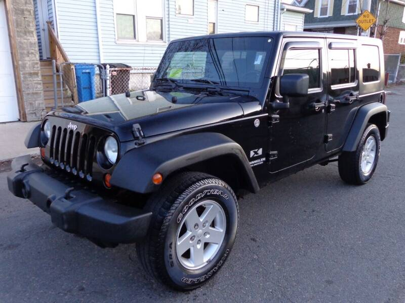 2009 Jeep Wrangler Unlimited for sale at Broadway Auto Sales in Somerville MA