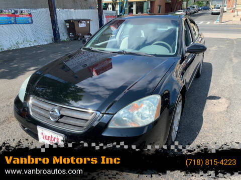 2004 Nissan Altima for sale at Vanbro Motors Inc in Staten Island NY